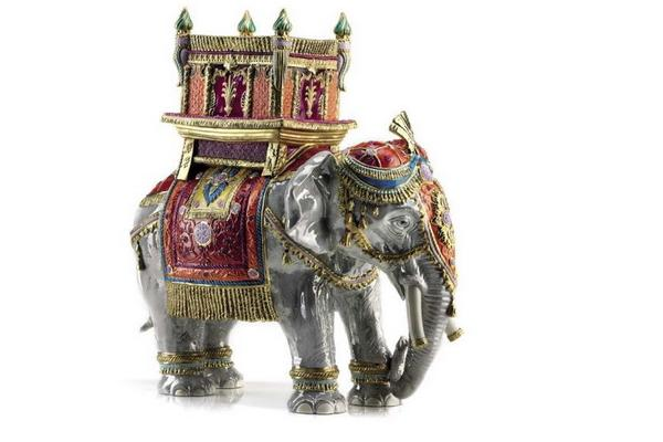 Статуэтка HAPPY TRADITIONAL JAIPUR ELEPHANT, арт. 0004136-502