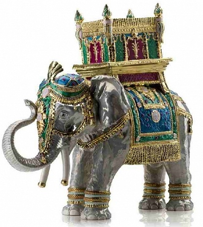 Статуэтка HAPPY BOLLYWOOD JAIPUR ELEPHANT, арт. 0004136-512