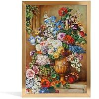 """Картина на фарфоре """"Натюрморт с вазой"""", M-932984 9MA47"""